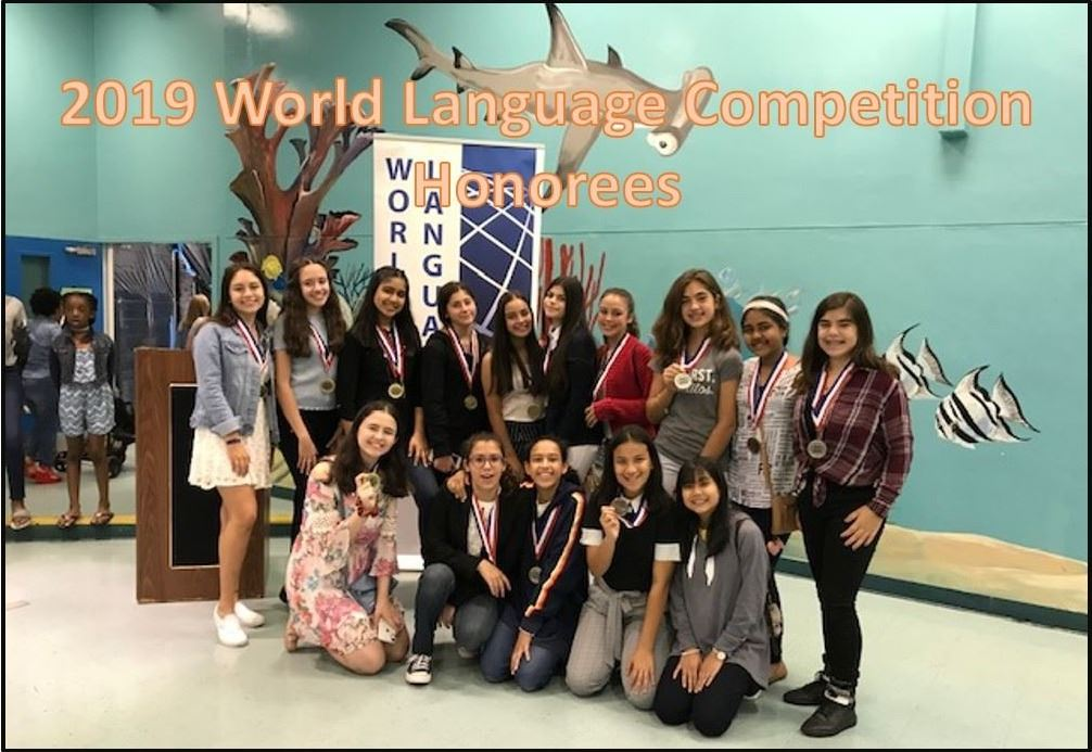 2019 World Language Participants